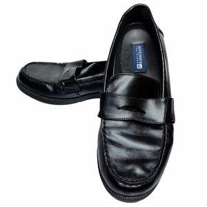 Sperry | Lazarette Black Vegan Leather Loafers